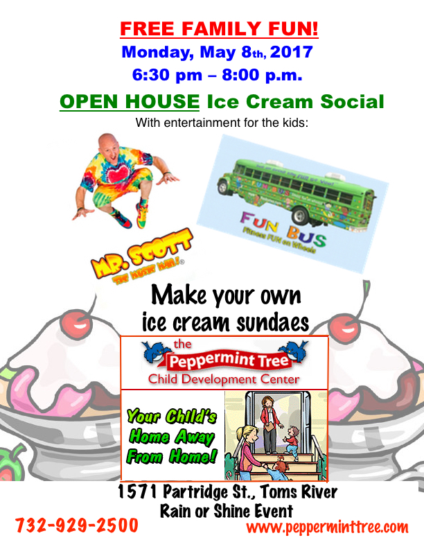 Ice Cream Social 2017 flier